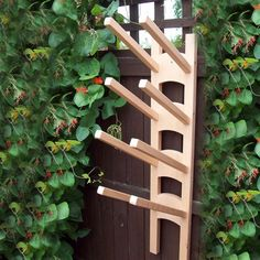 The Stamford Wellington Boot Rack Wall Mounted | Internet Gardener