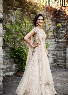 "beautifulsouthasianbrides: "" Photo by:Ikonica Bride's dress custom designed by CTC West Canada """