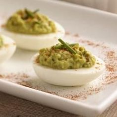 These deviled eggs are sinfully delicious. You won't be able to eat just one.