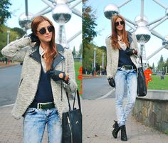 BRUSSELS: ATOMIUM (by Andrea Gomez www.lotoflooks.com) http://lookbook.nu/look/4223257-BRUSSELS-ATOMIUM