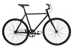 Matte Black Frame Bicycles | Critical Cycles