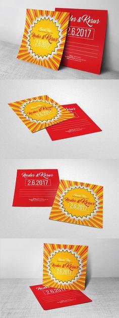 Saving Discount Post Card. Wedding Card Templates