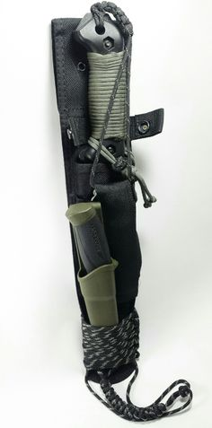 Combo Becker bk9/Mora companion heavy duty attached w paracord 550