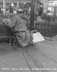 The Invisible Homeless Man Homeless Man, Seattle