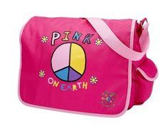My Sweet Dreams Baby - Personalized Kid's Messenger Bag - Pink on Earth (http://www.mysweetdreamsbaby.com/messengerbags.htm)