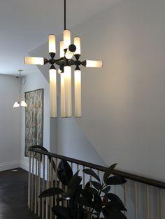 Castle Pendant designed by Jason Miller for Roll and Hill. #fionalynch #fionalynchdesign #castlependant #jasonmiller #rollandhill #lighting #newyork