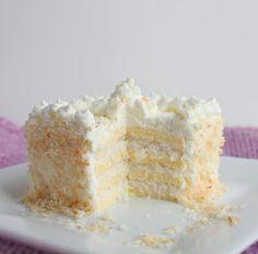 Coconut Frenzy Cake (LC, SF & GF)