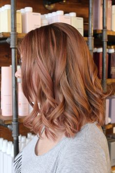 Cut Splice Boston - rose gold hair