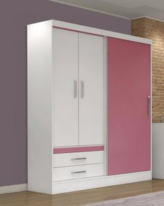 Wall Wardrobe Design, Wardrobe Interior Design, Wardrobe Door Designs, Wardrobe Room, Bedroom Closet Design, Girl Bedroom Designs, Closet Designs, Home Interior, Bedroom Cupboard Designs