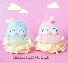 Barbara Handmade: Spirng birds