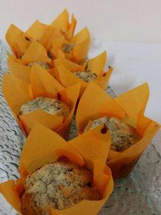 Panquecitos de limon y semilla de amapola