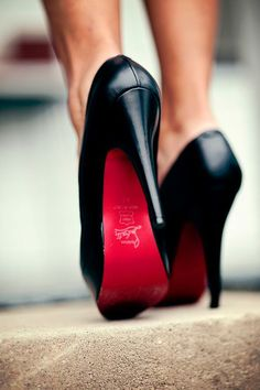 Christian Louboutin of course..