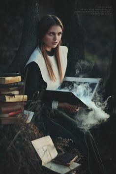 under my spell   Witch of Salem by nikolai bondarev