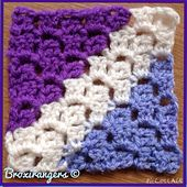 Ravelry: Diagonal Box Stitch Square pattern by Marie Segares