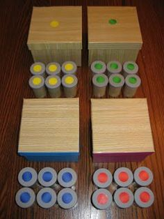2 Little Seeds- The Montessori Potential: Madly Making Materials! - Sound Cylinders and Smelling Cylinders