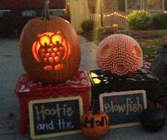 Hootie and the Blowfish Pumpkins by Bethany F., Bucyrus, OH