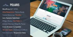 Buy POLARIS - Responsive WordPress Theme by GoaShape-Studio on ThemeForest. POLARIS is ultra responsive one page WordPress Theme suitable for events or parties. POLARIS is retina ready with