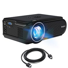 The  DeepLee DP90 1600 Lumens Mini LED Projector for Phone PC Laptop Flash Drive Streaming Stick Game Console with HDMI USB AV Port, fun for Movie Gaming Holiday Video – Black  is without doubt one of the best-rated, inexpensive product you can come across on Amazon. I'm certain you've he...