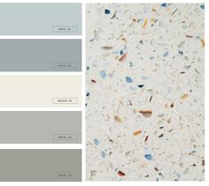 #GEOS Recycled Glass Surface in Ocean Shell, perfect colorhouse paint palette!