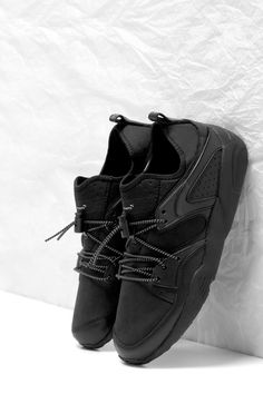 c572512c6 Stampd x PUMA Blaze of Glory Proves Less Is Always More: The two brands are  back with a deadly all-black sneaker.