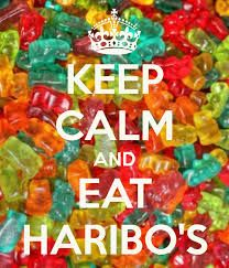 KEEP CALM AND EAT HARIBO'S. Another original poster design created with the Keep Calm-o-matic. Buy this design or create your own original Keep Calm design now. Frases Keep Calm, Keep Calm Quotes, Cant Keep Calm, Keep Calm And Love, Keep Calm Bilder, Keep Calm Wallpaper, Wallpaper Backgrounds, Wallpapers, Keep Calm Pictures