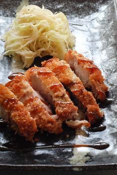 Pork tonkatsu recipe with miso & cabbage salad -Bureau of Taste