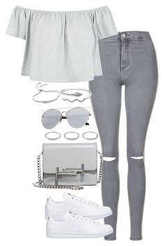"""Untitled #2280"" by theeuropeancloset ❤ liked on Polyvore featuring Topshop, New Look, adidas, Monica Vinader and Tod's"