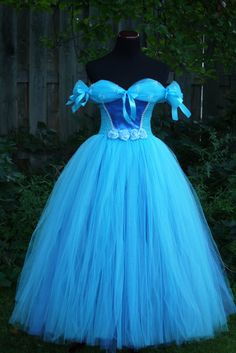 Check out this item in my Etsy shop https://www.etsy.com/listing/477963213/adult-cinderella-inspired-tutu-dress
