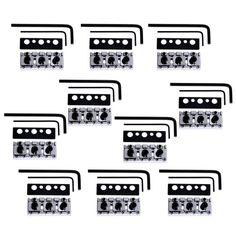donner tube drive overdrive guitar effect pedal super mini 10 set electric guitar shim adjustable locking nut 6 sting lock 425mm high quality