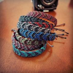 #macrame #bracelet #bohemian #hippie #colorful #handmade #macramé #jewelry #friendshipbracelets #redfoxstories