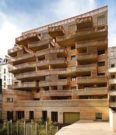 périphériques architectes combines social housing & private residences in the 15th arrondissement of paris, france