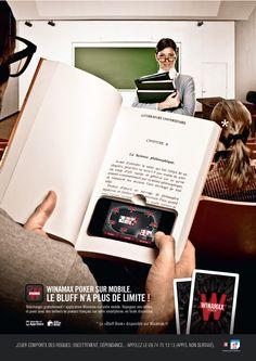 #Winamax #poker #Bluff #Book #advertising #creative