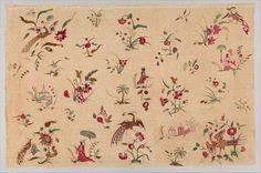 Panel with Chinoiserie motifs | British | The Metropolitan Museum of Art