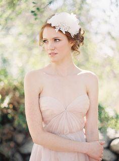 Bridal Crown Headband Floral Silk Flower by sibodesigns on Etsy, $190.00