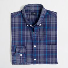 J.Crew+Factory+-+Factory+washed+shirt+in+medium+plaid