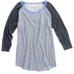 Madewell Striped Flyball Tee (€31) found on Polyvore