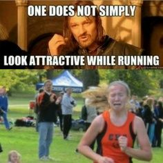 Runner girl problems-- ahahaha I look more like I'm taking a poop when I really run, it's beautiful.