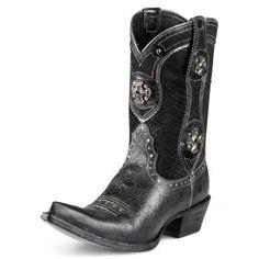 Ariat Desperado... You can never go wrong with Black Cowboy Boots!