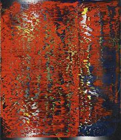 Abstraktes Bild 3 Artwork by Gerhard Richter