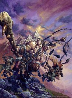 Cool Fantasy Illustrations by Ralph Horsley