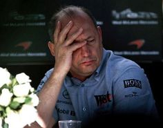 It's not easy being Ron Dennis