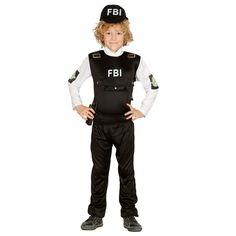 Déguisement Policier FBI #déguisementsenfants #costumespetitsenfants #nouveauté2015