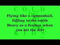 How appropriate! How am I the lucky one?  Cold War Kids - First (Lyrics) - YouTube