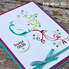 Stampin' Anne: Beautiful Peacock