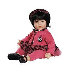 Adora Dolls Ruffle Bug http://www.toniscollectibles.com/dolls/dolls-manufacture/adora-dolls/adora-dolls-ruffle-bug.html