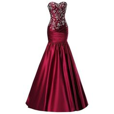 SimpleDressUK Women's Elegant Beaded Prom Gowns Mermaid Sweetheart... ($500) ❤ liked on Polyvore featuring dresses, gowns, purple dress, beaded gown, purple prom dresses, beaded prom dresses and beaded evening gowns