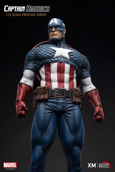 Pre-Order Captain America by XM I LBS now here with us in europe. Super-Soldier Captain America stands ready as a shining sentinel of liberty! Marvel Comics, Marvel Films, Marvel Characters, Marvel Dc, Captain America Statue, Captain America Comic, Marvel Statues, Black Spiderman, Avengers