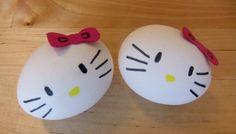 Hello Kitty Eier Anleitung Schritt 3