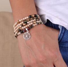 Fosil ve Kristal Taşlı Beş Sıra Bileklik Zet.com'da 140 TL Beaded Bracelets, Jewelry, Fashion, Moda, Jewlery, Jewerly, Fashion Styles, Pearl Bracelets, Schmuck