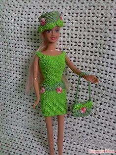 Всем привет! Нашла я сегодня время, чтоб показать Вам продолжение нарядов для куклы Барби?  Первая часть была здесь - http://www.stranamam.ru/
